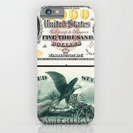 James Madison US 5000 (1878) iPhone Case