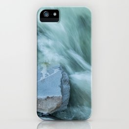 Marble River Run iPhone Case