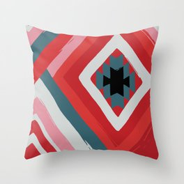 Dimensional Passion Throw Pillow