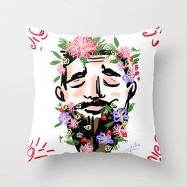 Nature Man Throw Pillow