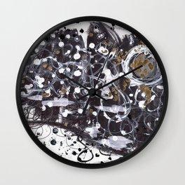 Night embers Wall Clock