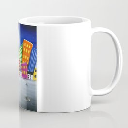 Hilly Meets Holiday Harbour Coffee Mug