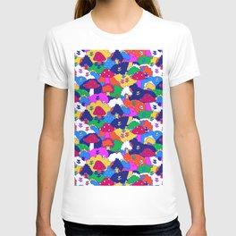 Trippy Hippie Hills T-shirt