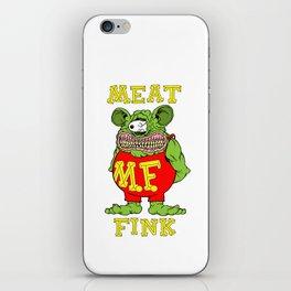 Meat Fink iPhone Skin