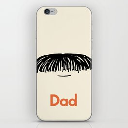 Dad Moustache iPhone Skin