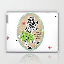 Change the World with a Smile Laptop & iPad Skin