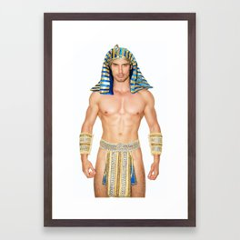 Sexy Pharao Framed Art Print