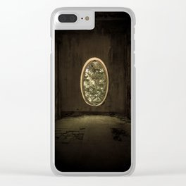 Forgotten abandoned room Clear iPhone Case