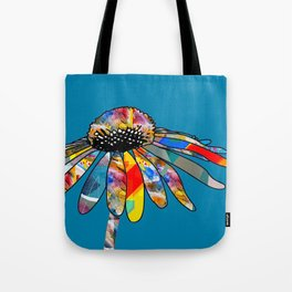 The unusually Conflower Tote Bag
