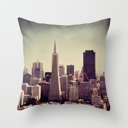 you can't beat that view Throw Pillow
