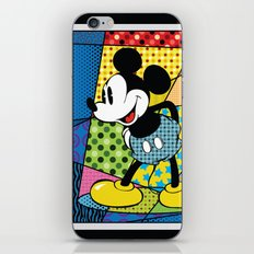 Mickey Spotlight iPhone Skin