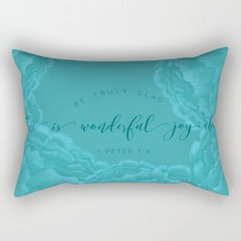 Truly Glad Rectangular Pillow