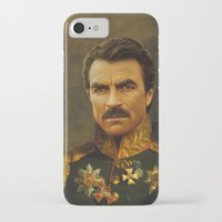 replaceface iPhone & iPod Cases featuring Tom Selleck - replaceface by replaceface