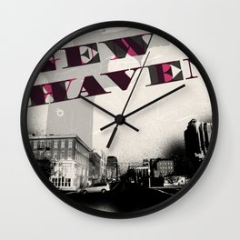 Gun Wavin, New Haven Wall Clock