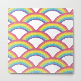 Land of All Rainbows Metal Print