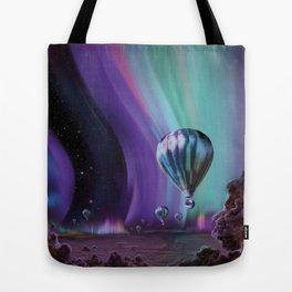NASA Retro Space Travel Poster #7 Juniper Tote Bag