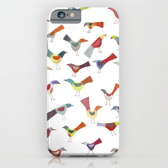 Birds doing bird things iPhone & iPod Case