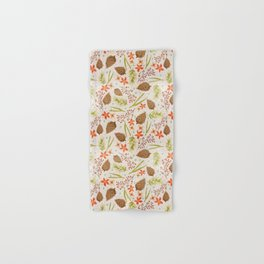 Quiet Walk In The Forest - A Soft And Lovely Pattern Hand & Bath Towel