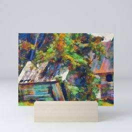 Farm Sheds PhotoArt Mini Art Print