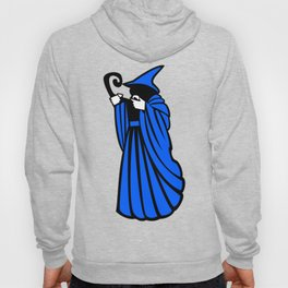 Blue Wizard Clipart Hoody