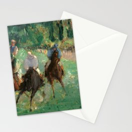 Édouard Manet - At the Races Stationery Cards
