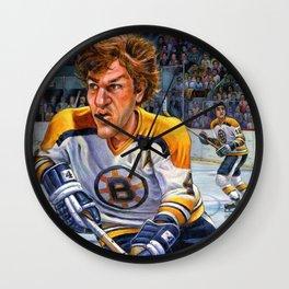Bobby Orr: Game Changer Wall Clock