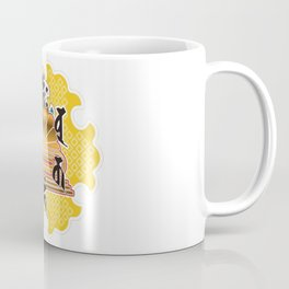 Collaboration between Buddhism and Japanese pattern Coffee Mug