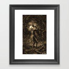 KING LEAR Framed Art Print