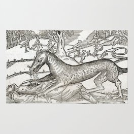 Beast of Cinglais 1632 Rug