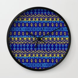 Boho Electric Wall Clock