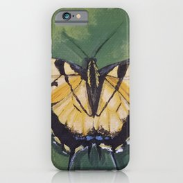 Tiger Swallowtail Butterfly By Isabella Medici iPhone Case