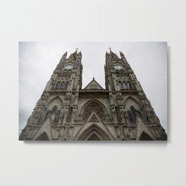 Basilica del Voto Nacional Metal Print