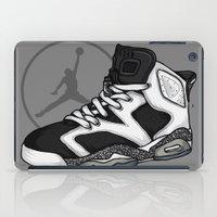 air jordan iPad Cases featuring Jordan 6 (Oreo) by Pancho the Macho