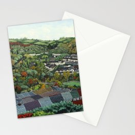 Pontypridd (featuring Sardis Road Rugby Ground) Stationery Cards