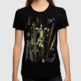 Collage - Daggers, Dirks and Sabres T-shirt