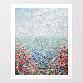 Floral Fields No. 5 Art Print