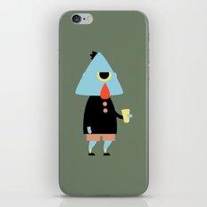 Mortimer iPhone & iPod Skin