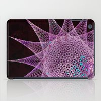 snowflake iPad Cases featuring Snowflake by Nick Brummer