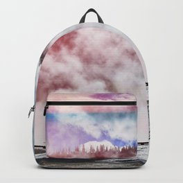 Hot Spring Silhouettes Backpack