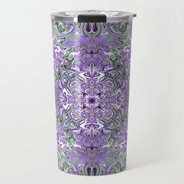 Lilac and Pink Pattern Travel Mug