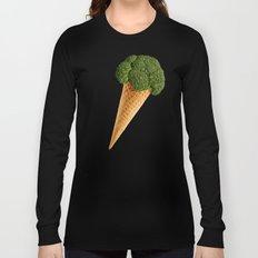 broccoli ice cream Long Sleeve T-shirt