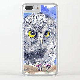 Watching (really watching) Clear iPhone Case
