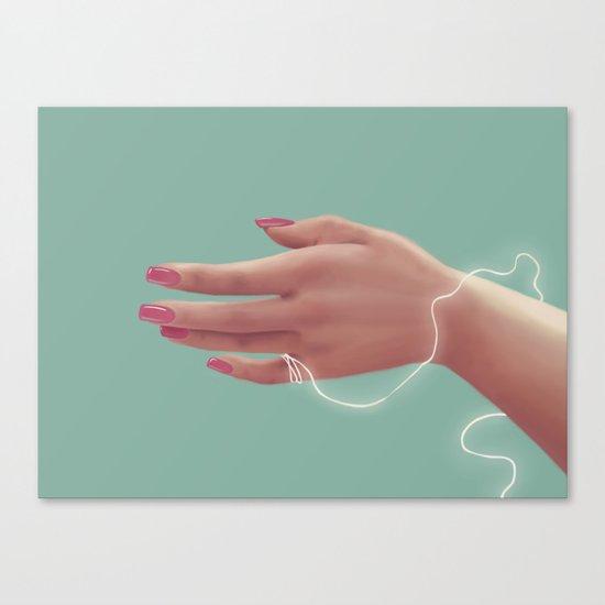 El Hilo Blanco ~ ☆ Canvas Print