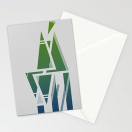 Abstract Color Stationery Cards