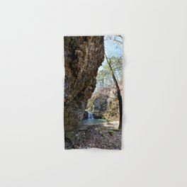 Alone in Secret Hollow with the Caves, Cascades, and Critters, No. 16 of 21 Hand & Bath Towel