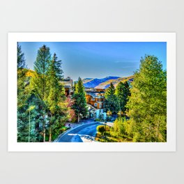 Vail Colorado Photo Art Print
