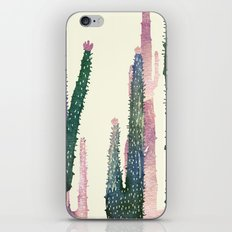 cactus water color iPhone & iPod Skin