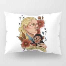 Jane Goodall Pillow Sham