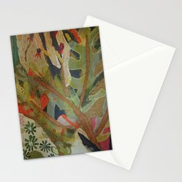 Exotic abstract patterns of nature Stationery Cards