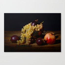 Fruit Bowl Arrangement Canvas Print